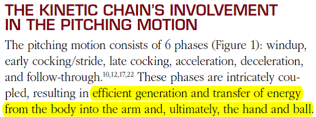 Kinetic Chain passage